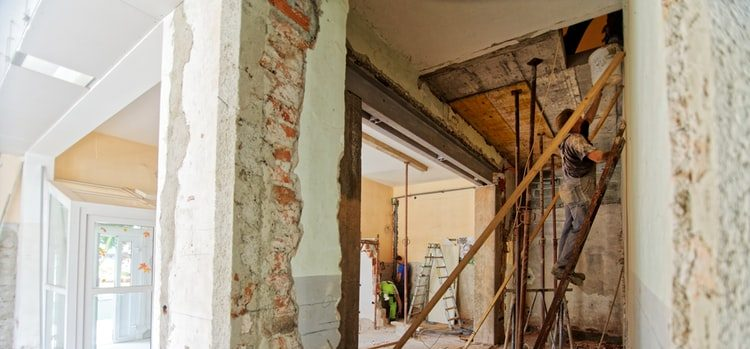 remodeling a home